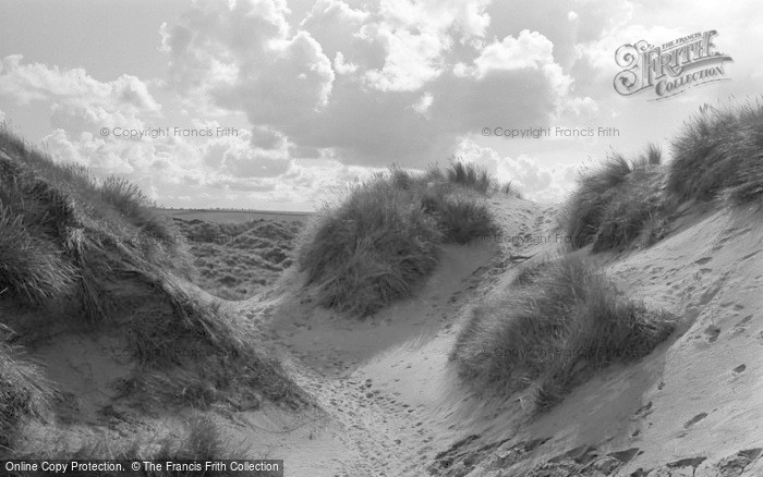Photo of Bamburgh, The Dunes 1954