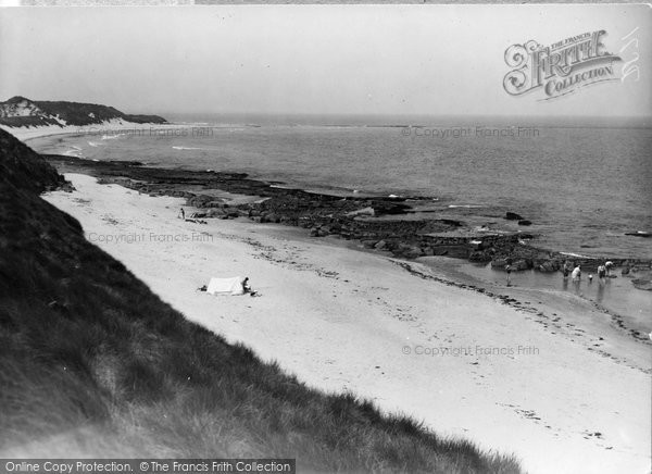 Photo of Bamburgh, The Sands c.1935