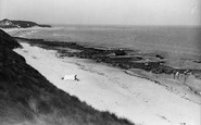Bamburgh, The Sands c.1935
