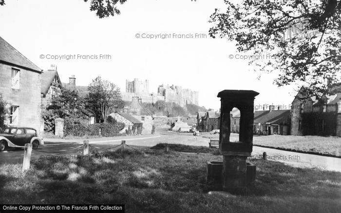 Photo of Bamburgh, The Village 1954