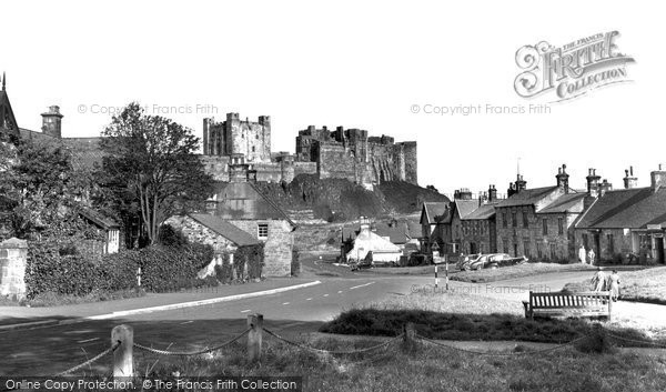 Photo of Bamburgh, The Village And Castle 1954