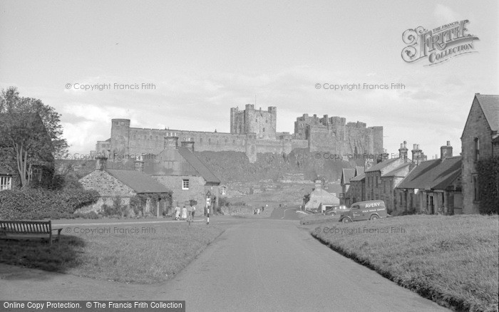 Photo of Bamburgh, Village And Castle 1954