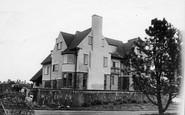 Bamburgh, West House c.1935