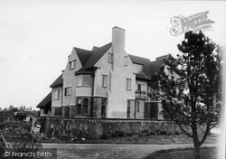 Bamburgh, West House c.1935