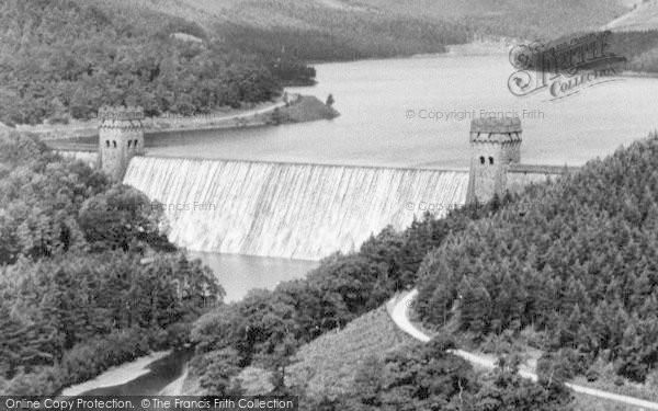 Photo of Bamford, Derwent Valley Reservoir And Howden Dam c.1965