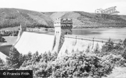Bamford, Derwent Valley Reservoir c.1965