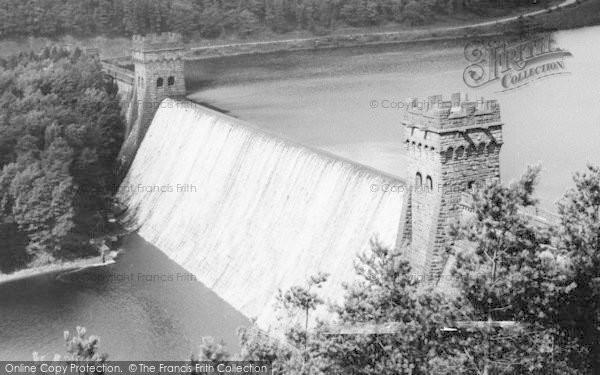 Photo of Bamford, Howden Dam c.1965