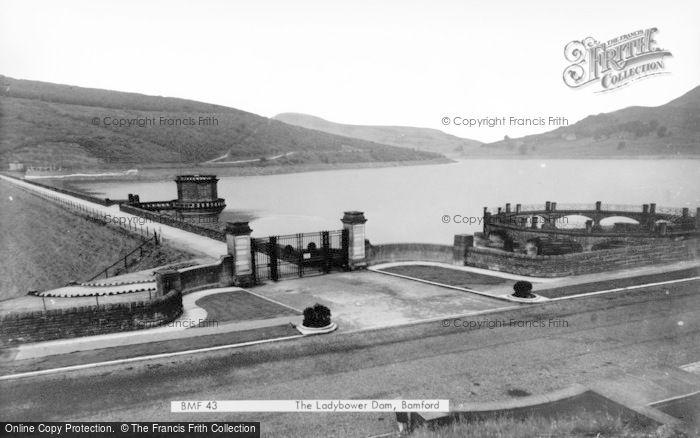 Photo of Bamford, Ladybower Dam c.1965