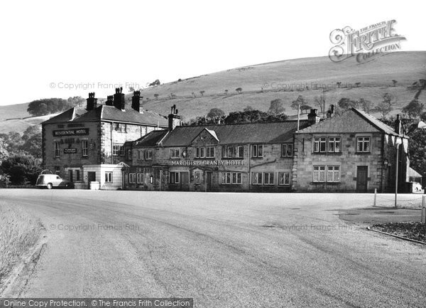 Photo of Bamford, Marquis of Granby Hotel c1960