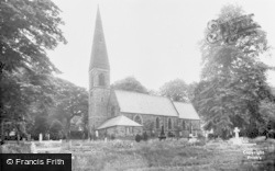 Bamford, St John The Baptist Church c.1955
