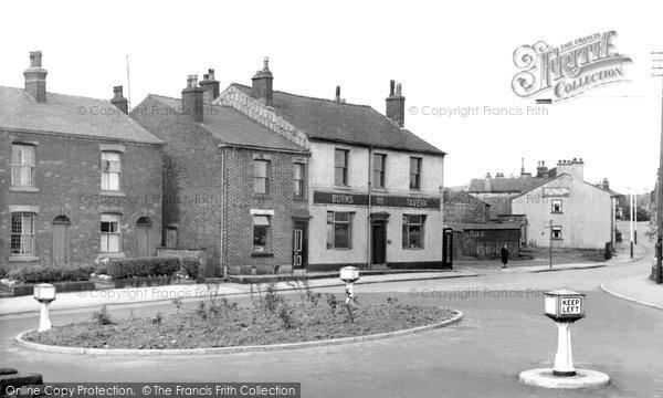 Photo of Bamford, The Village c.1955