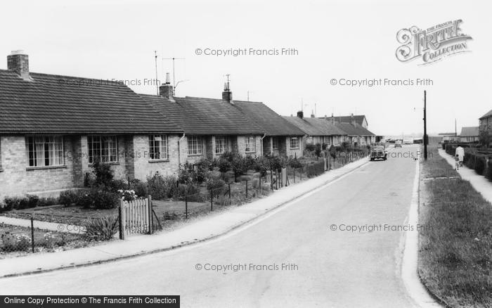 Photo of Bampton, Bowling Green Close c.1965