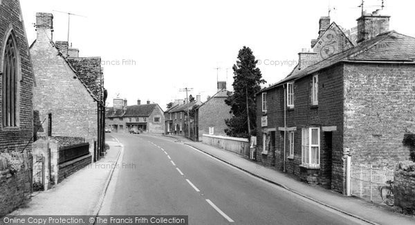 Bampton, Bridge Street c.1965