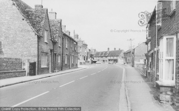 Photo of Bampton, Bridge Street c.1965