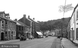 Bampton, Brook Street c.1955