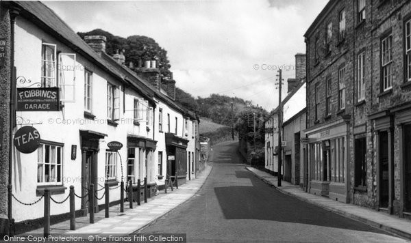 Photo of Bampton, Castle Street c1950