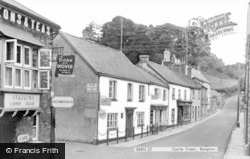 Bampton, Castle Street c.1955