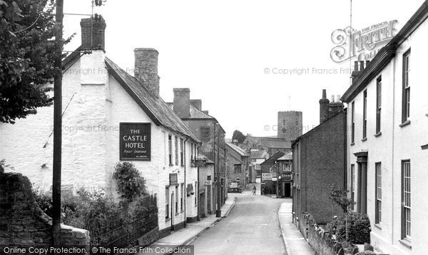 Photo of Bampton, Castle Street c.1955