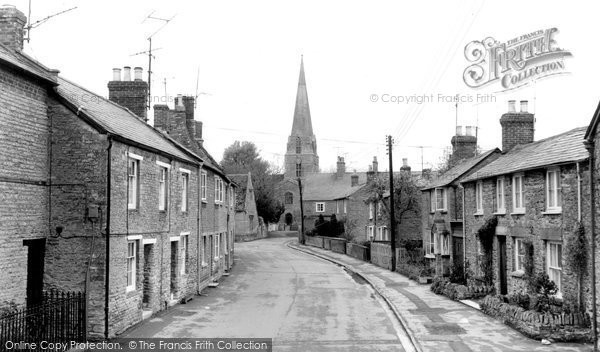 Photo of Bampton, Church View c.1965