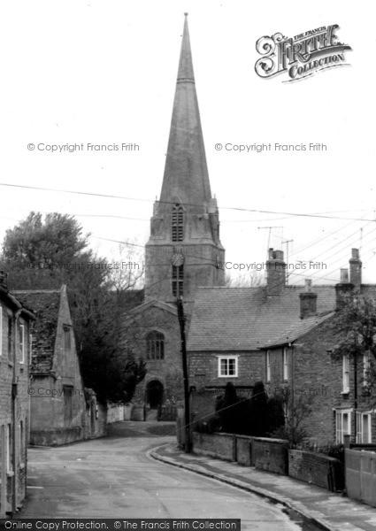 Photo of Bampton, Church View c.1965