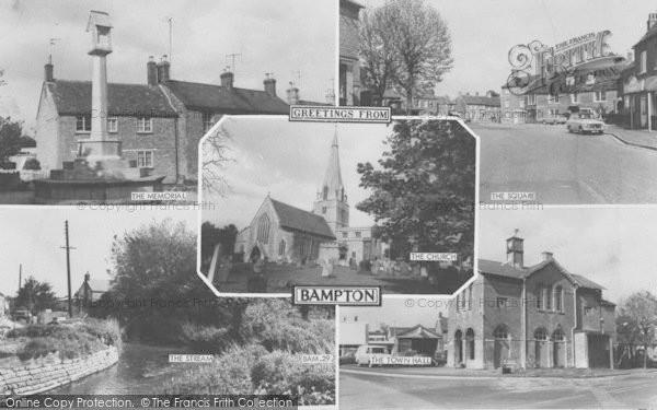 Photo of Bampton, Composite c.1965