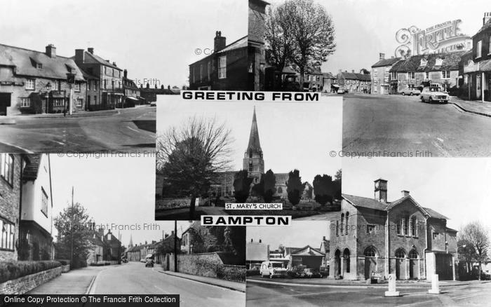Photo of Bampton, Composite c.1965