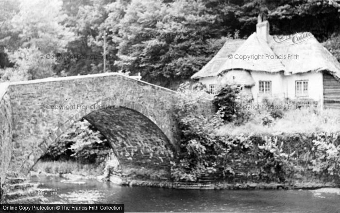 Photo of Bampton, Cove Bridge c.1950