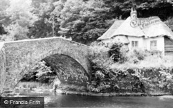 Bampton, Cove Bridge c.1950