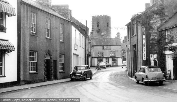 Photo of Bampton, Fore Street c.1960