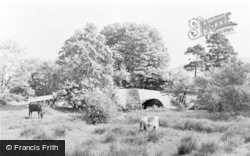 Bampton Grange, Chapel Bridge c.1955