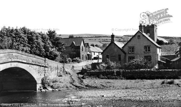 Photo of Bampton Grange, The Bridge And Village c.1965