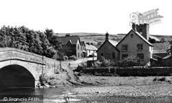 Bampton Grange, The Bridge And Village c.1965