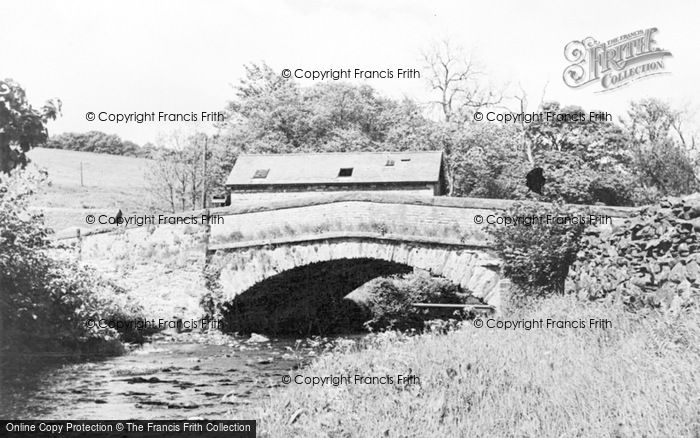Photo of Bampton Grange, The Bridge c.1965