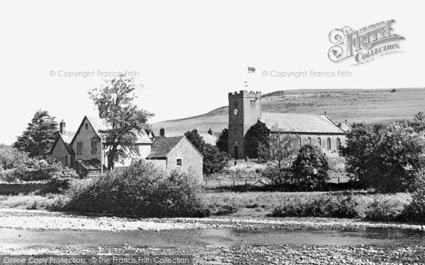 Photo of Bampton Grange, The Church And Scar c.1965