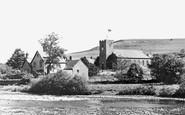Bampton Grange, The Church And Scar c.1965