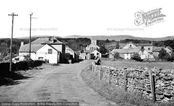 Photo of Bampton Grange, The Village 1952
