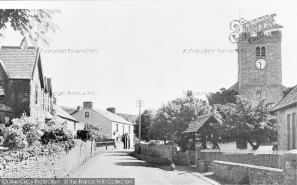 Photo of Bampton Grange, The Village c.1965