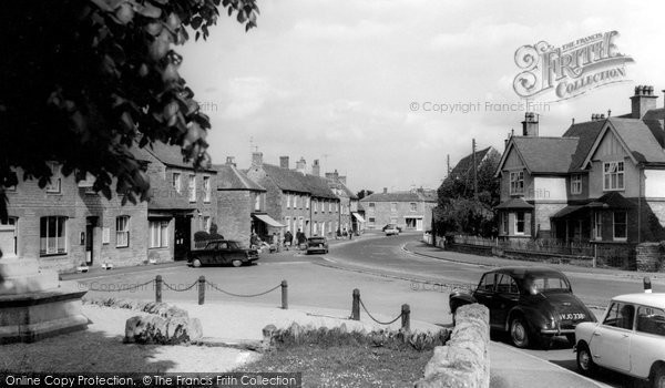Photo of Bampton, High Street c.1965