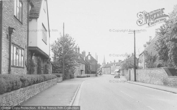 Photo of Bampton, High Street c.1965