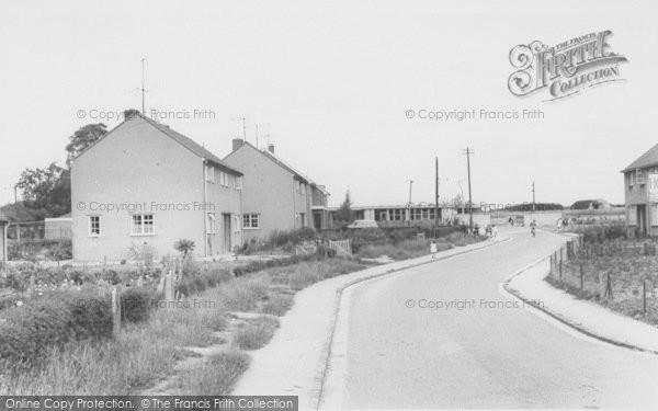 Photo of Bampton, Housing Estate c.1965
