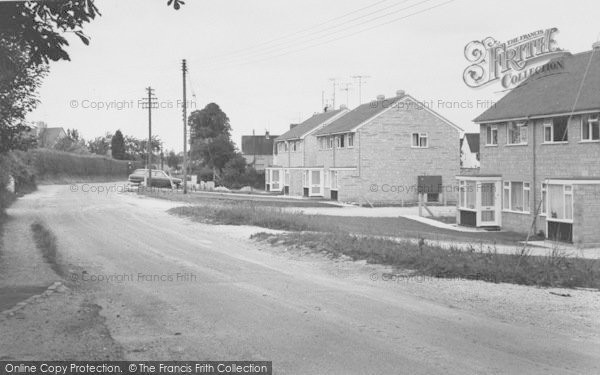 Photo of Bampton, Housing Estate c.1965