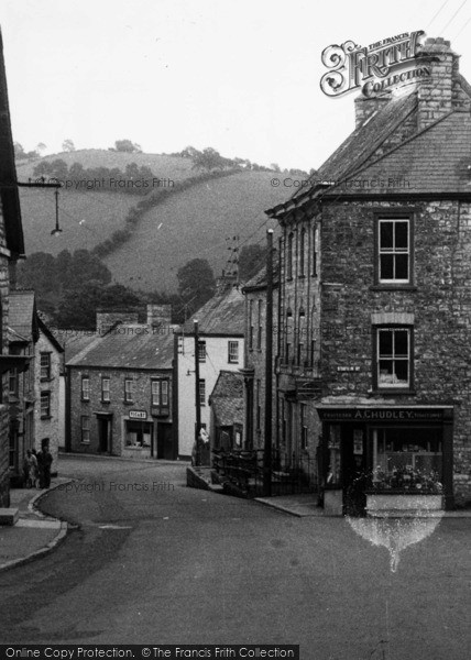 Photo of Bampton, Luke Street c.1955