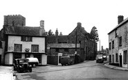Bampton, Newton Square And Luke Street c.1955
