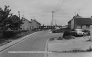Bampton, School And Bowling Green Close c.1965