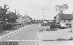 School And Bowling Green Close c.1965, Bampton