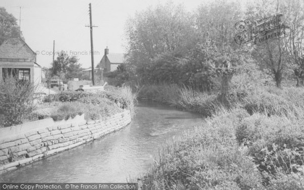 Photo of Bampton, Shill Brook c.1965