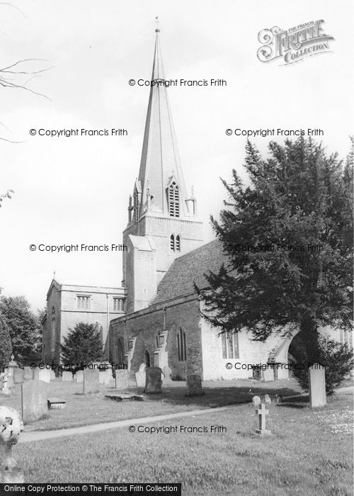 Photo of Bampton, St Mary's Church c.1955
