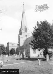 Bampton, St Mary's Church c.1955