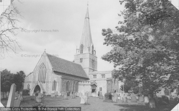 Photo of Bampton, St Mary's Church c.1965