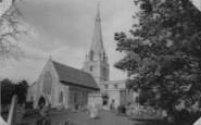 Bampton, St Mary's Church c.1965